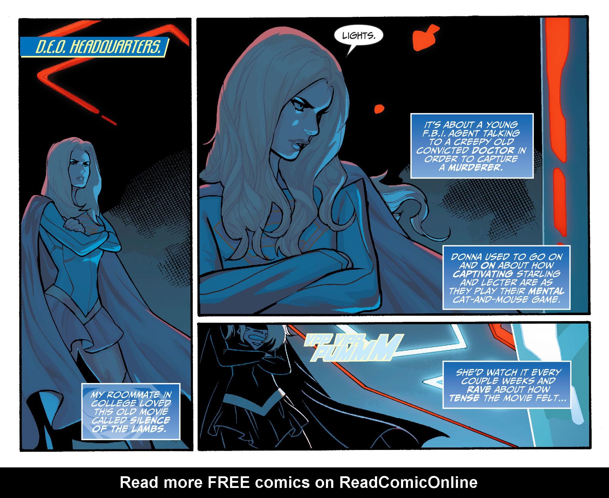 Read online Adventures of Supergirl comic -  Issue #6 - 3