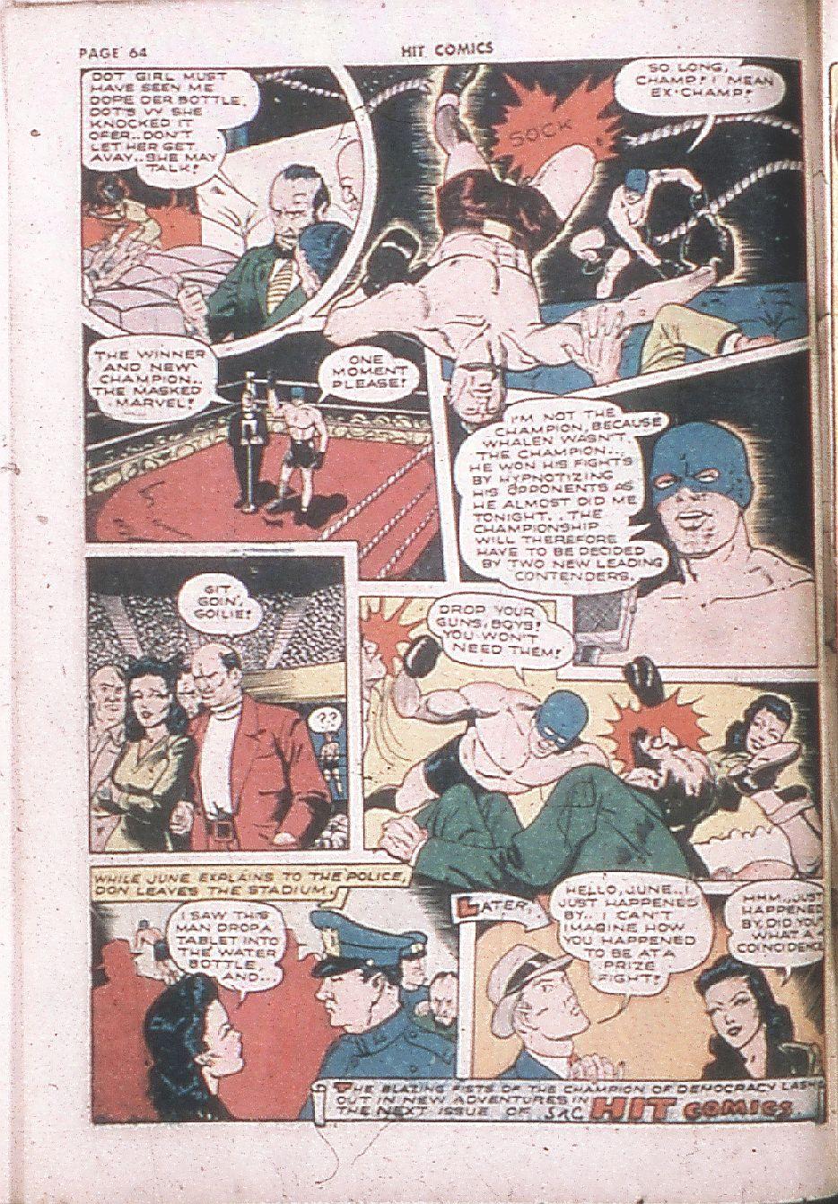 Read online Hit Comics comic -  Issue #24 - 66