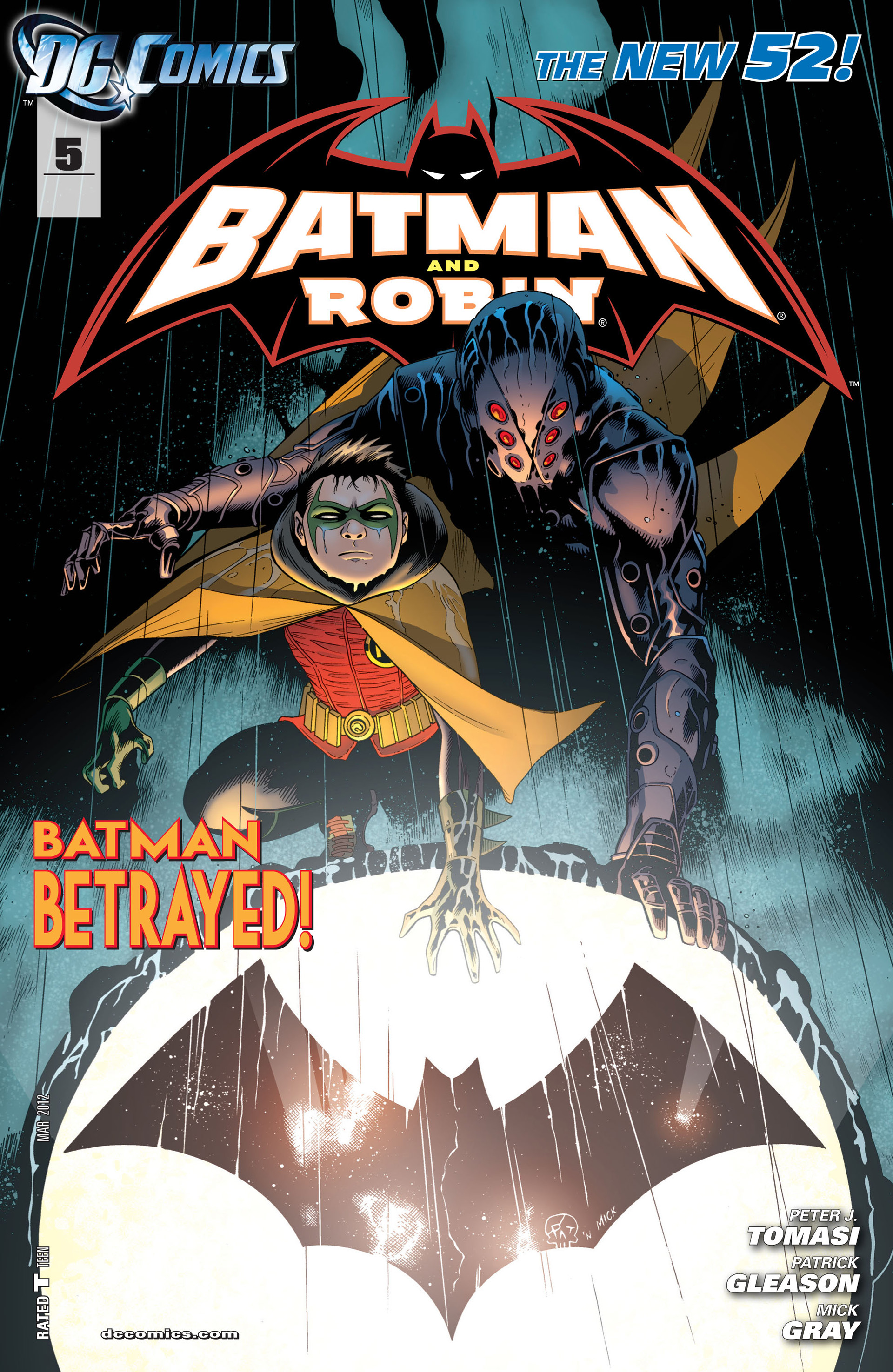 Read online Batman and Robin (2011) comic -  Issue #5 - 1