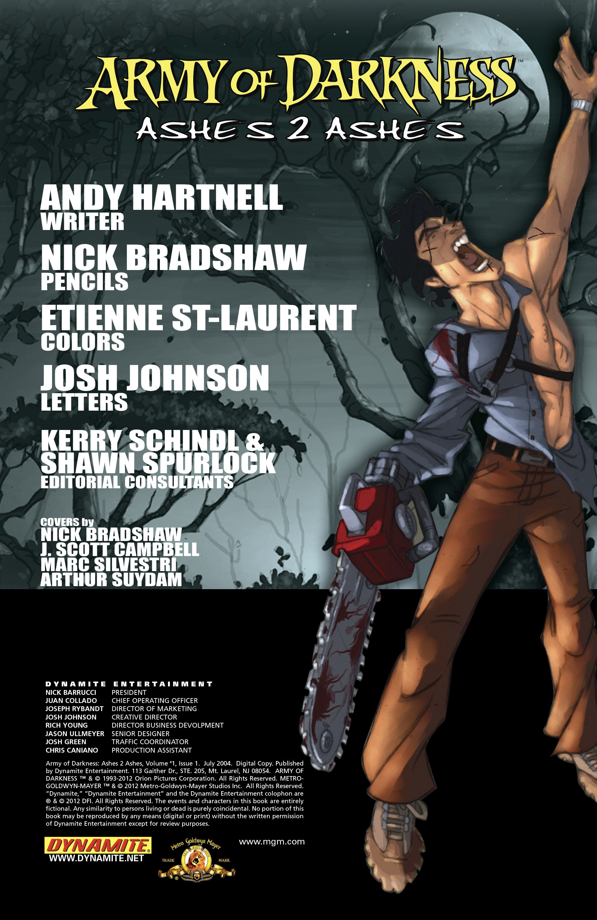 Read online Army of Darkness: Ashes 2 Ashes comic -  Issue #1 - 7