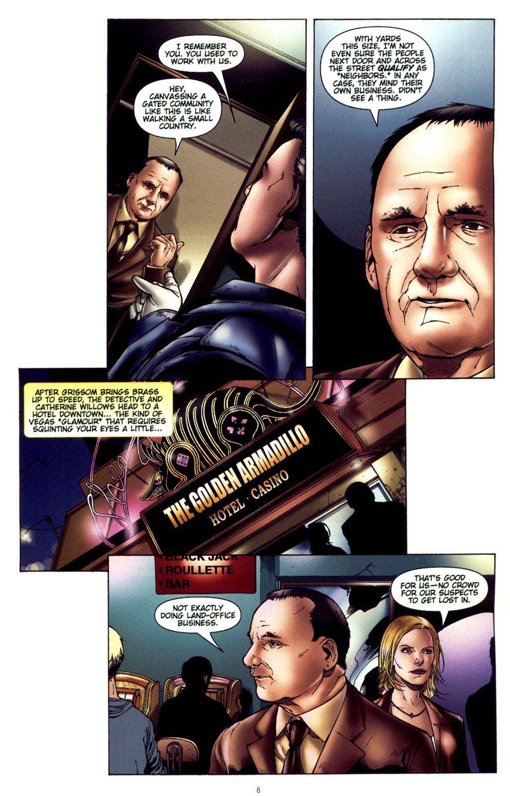 Read online CSI: Crime Scene Investigation: Bad Rap comic -  Issue #4 - 7