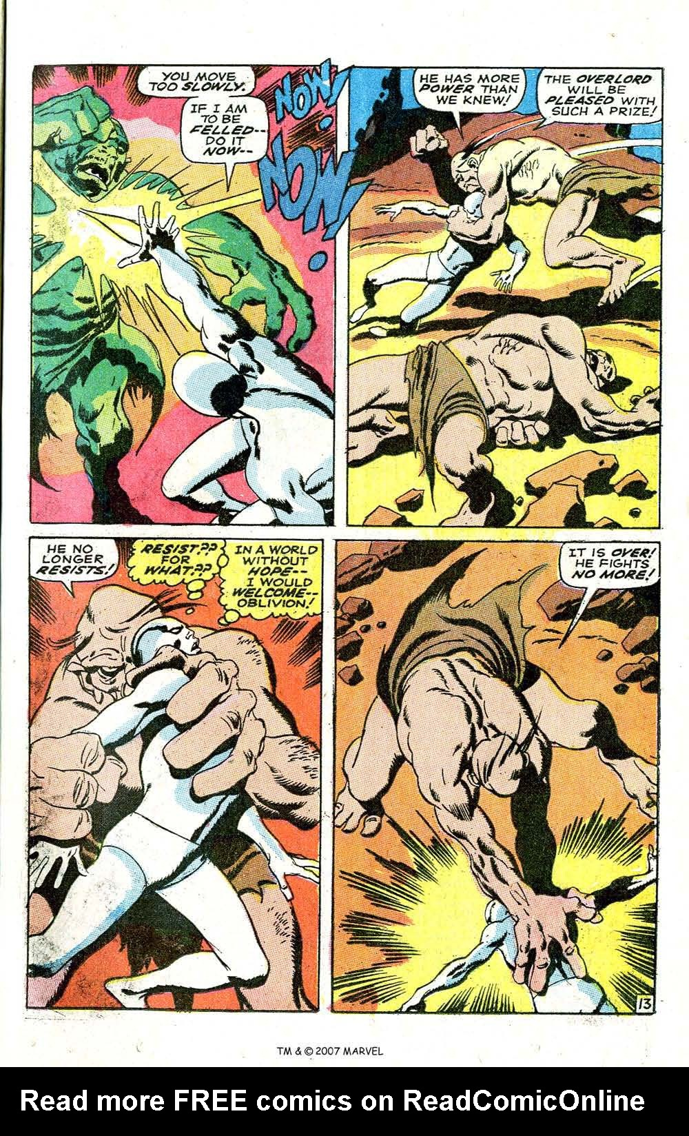 Read online Silver Surfer (1968) comic -  Issue #6 - 17
