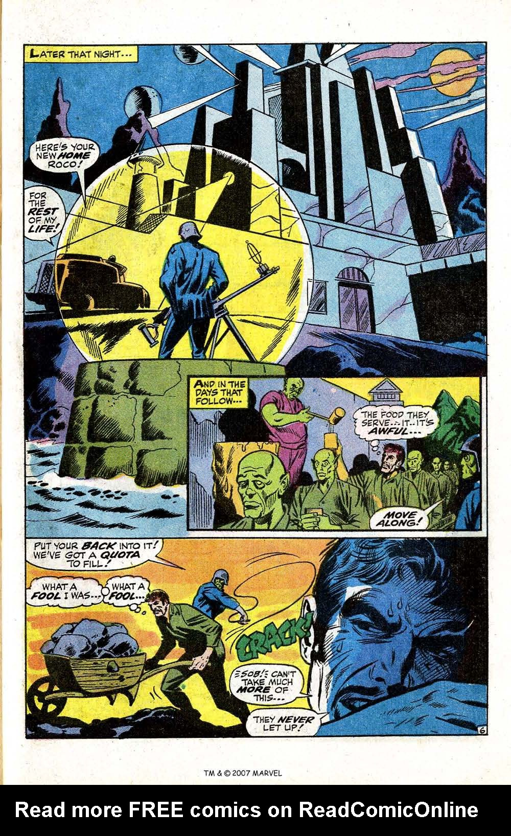 Read online Silver Surfer (1968) comic -  Issue #5 - 57