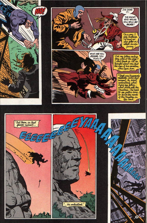 Read online The Phantom (1988) comic -  Issue #4 - 24