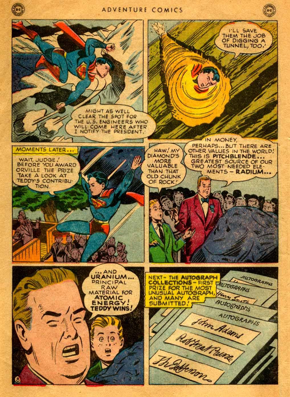 Read online Adventure Comics (1938) comic -  Issue #121 - 10