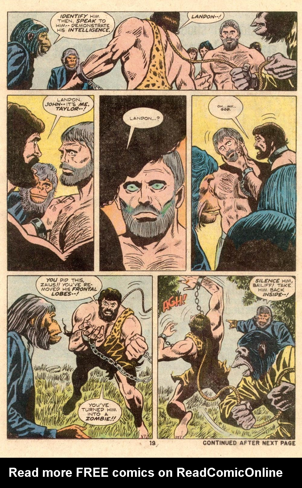 Read online Adventures on the Planet of the Apes comic -  Issue #4 - 14