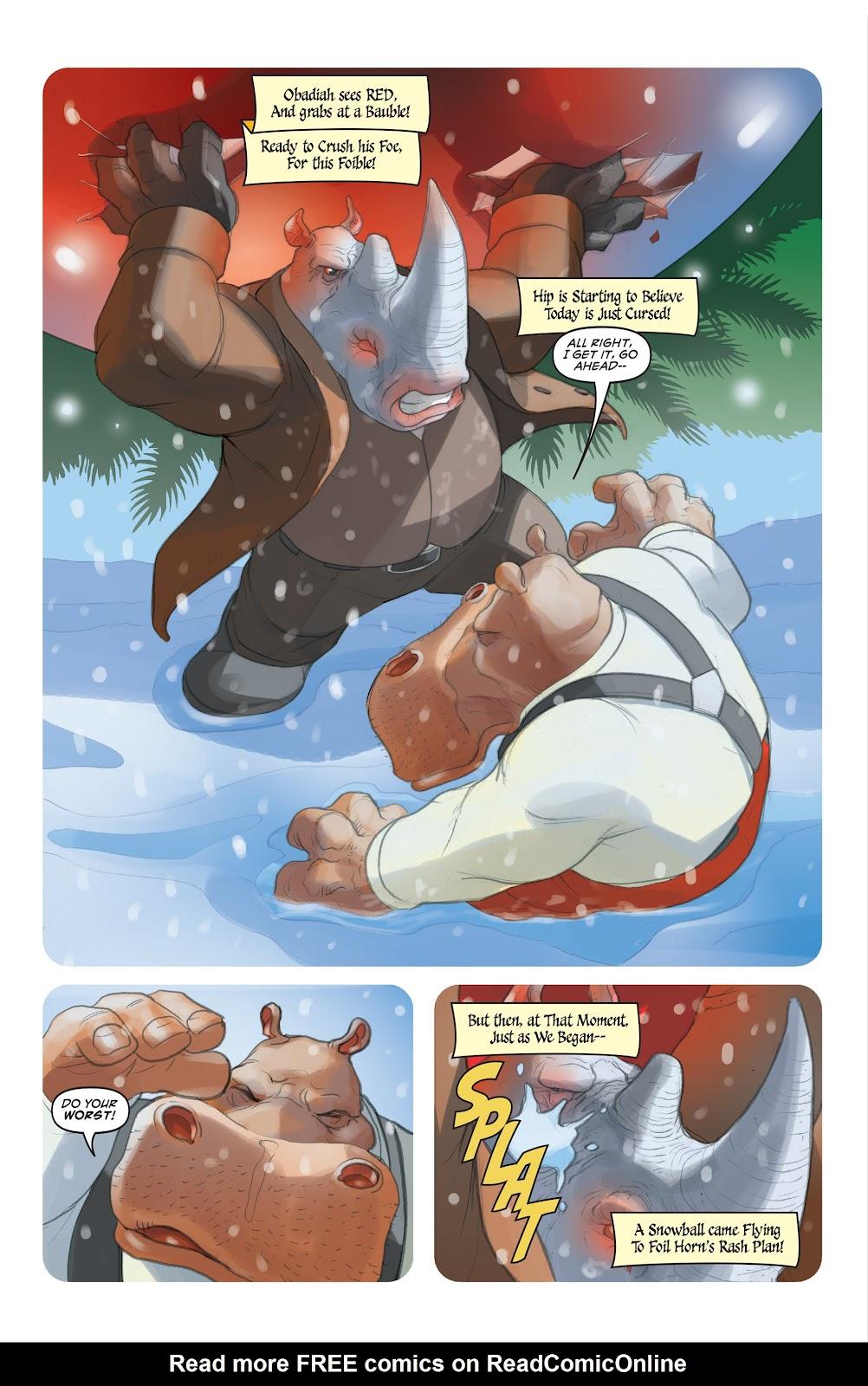 Read online Elephantmen 2261 Season Two: The Pentalion Job comic -  Issue # TPB - 110