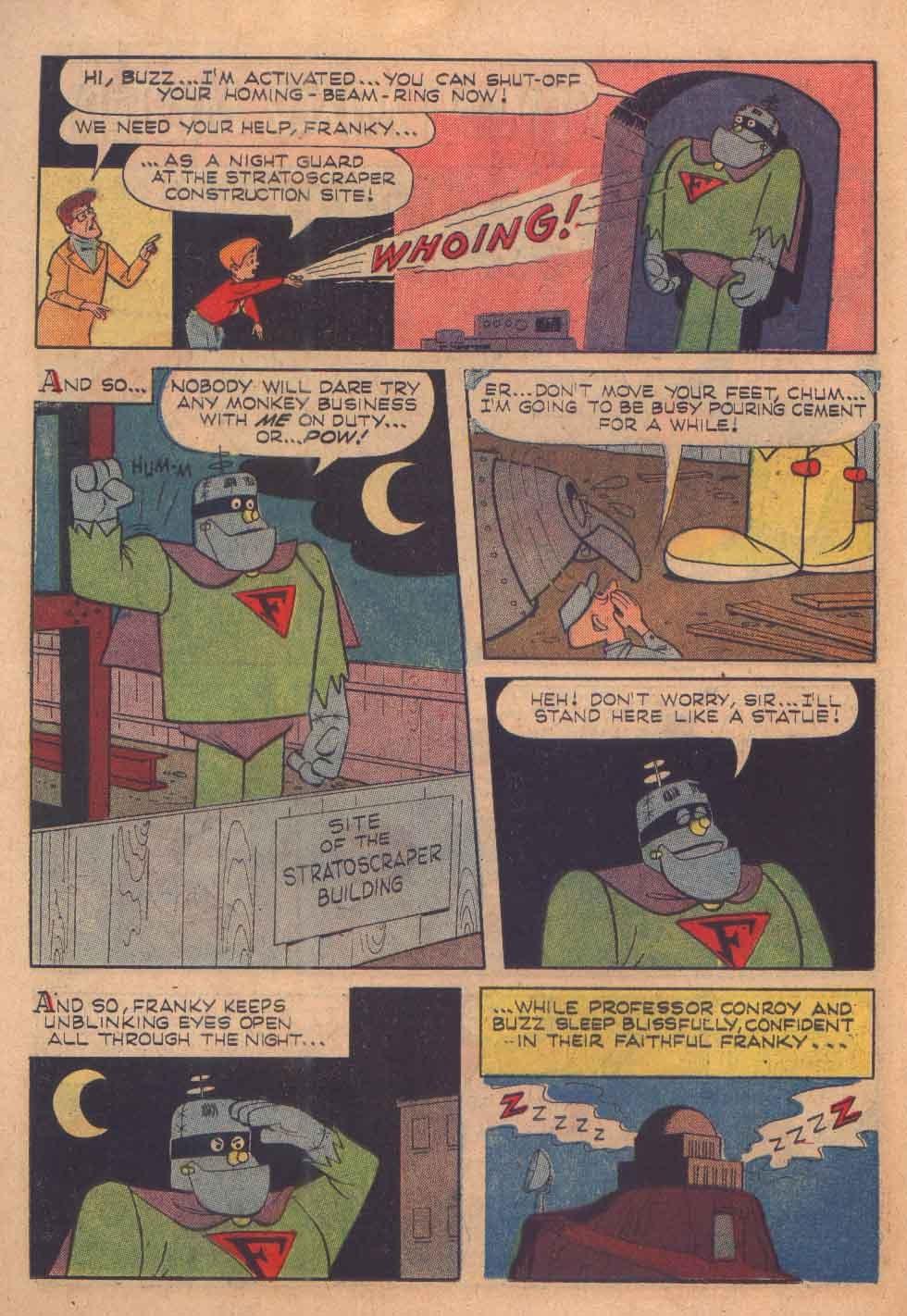 Read online Frankenstein, Jr. comic -  Issue # Full - 22
