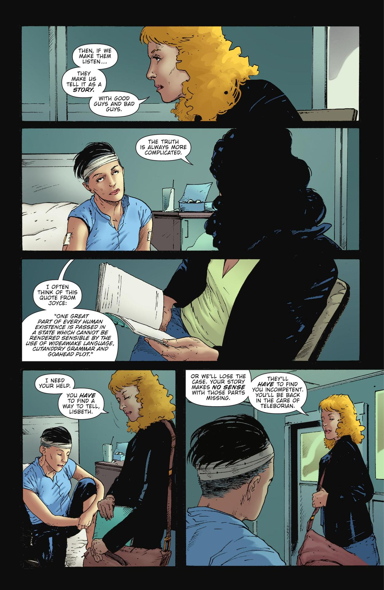 Read online The Girl Who Kicked The Hornet's Nest comic -  Issue # TPB - 129