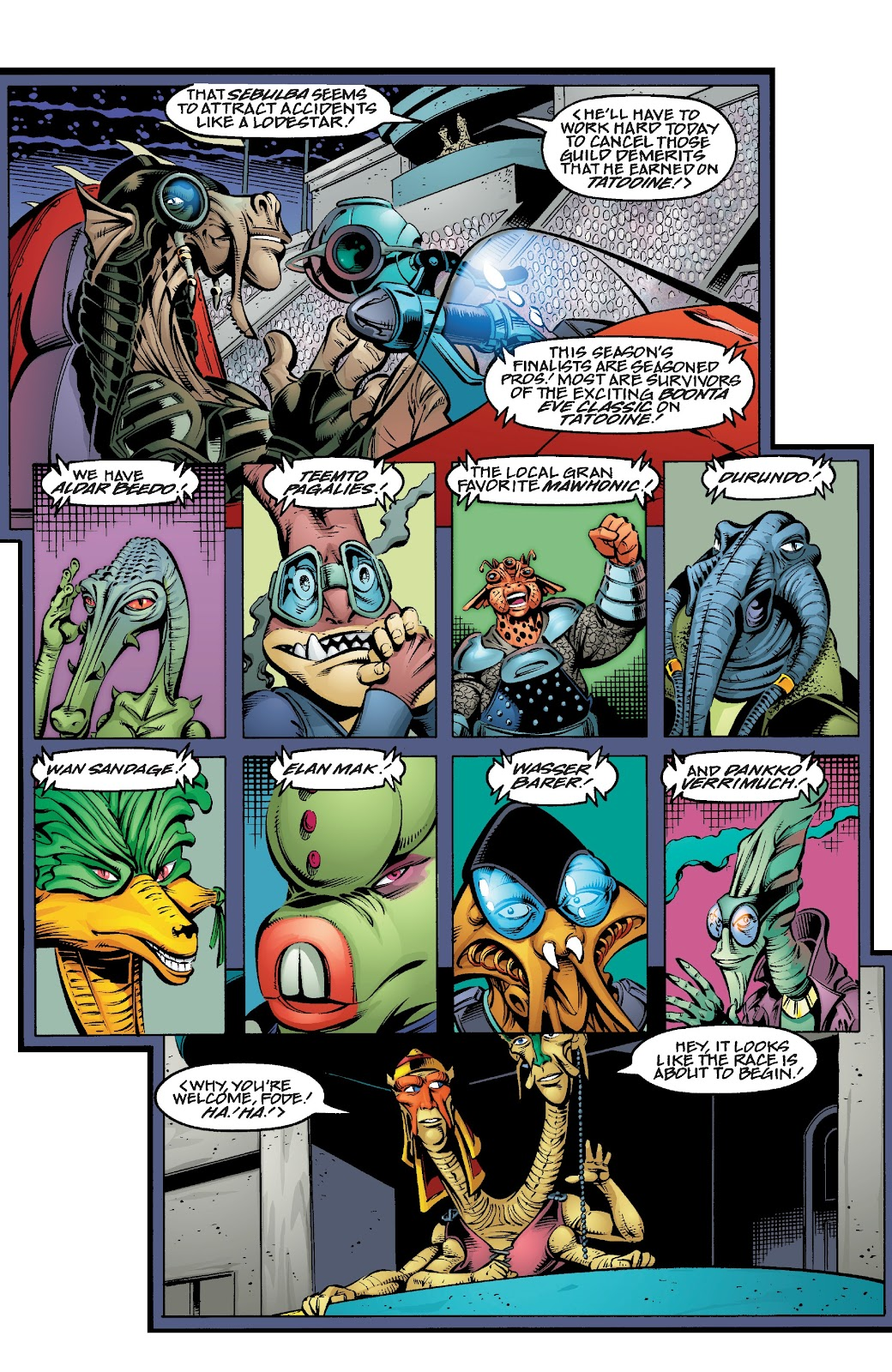 Read online Star Wars Legends Epic Collection: The Menace Revealed comic -  Issue # TPB (Part 4) - 5