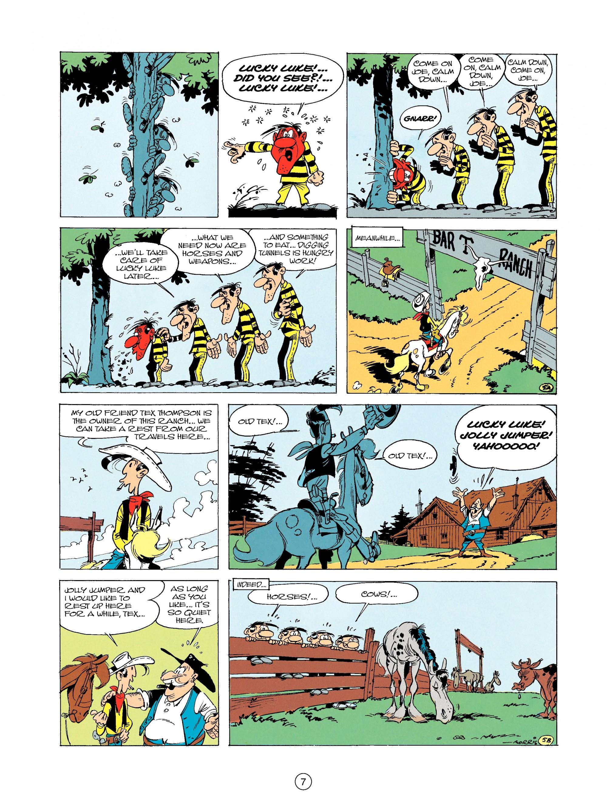 Read online A Lucky Luke Adventure comic -  Issue #19 - 7