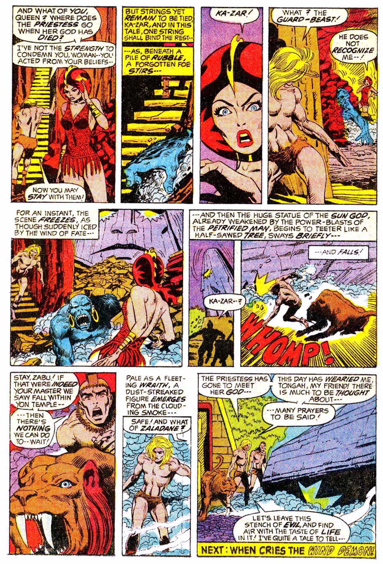 Read online Astonishing Tales (1970) comic -  Issue #5 - 21