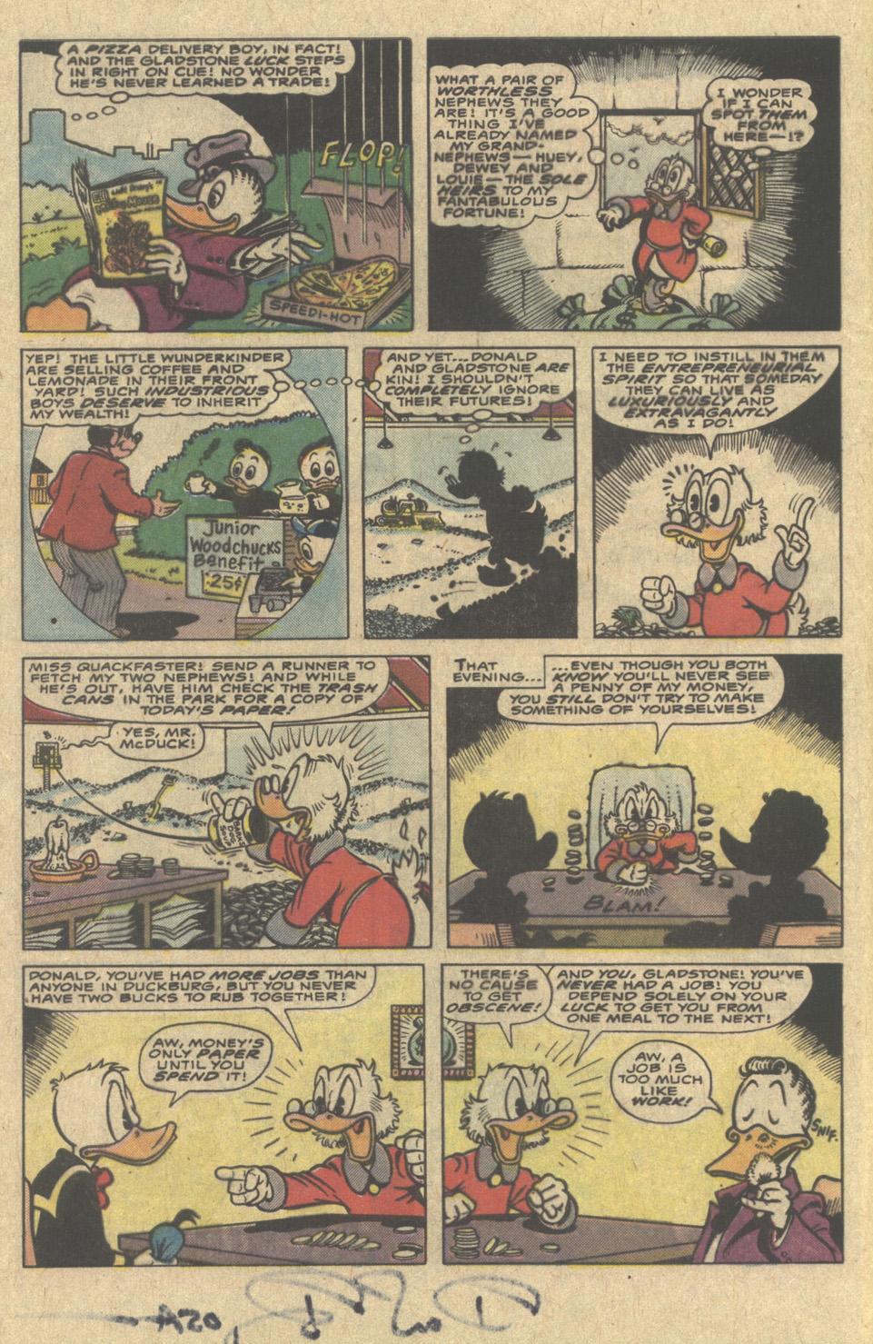 Read online Uncle Scrooge (1953) comic -  Issue #220 - 4