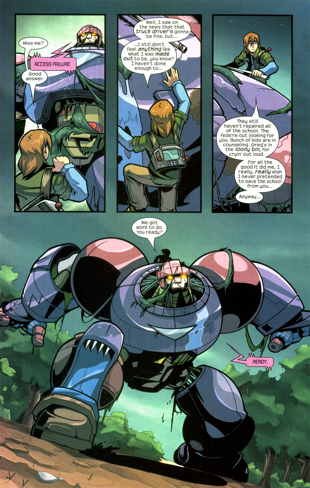 Read online Sentinel comic -  Issue #7 - 17