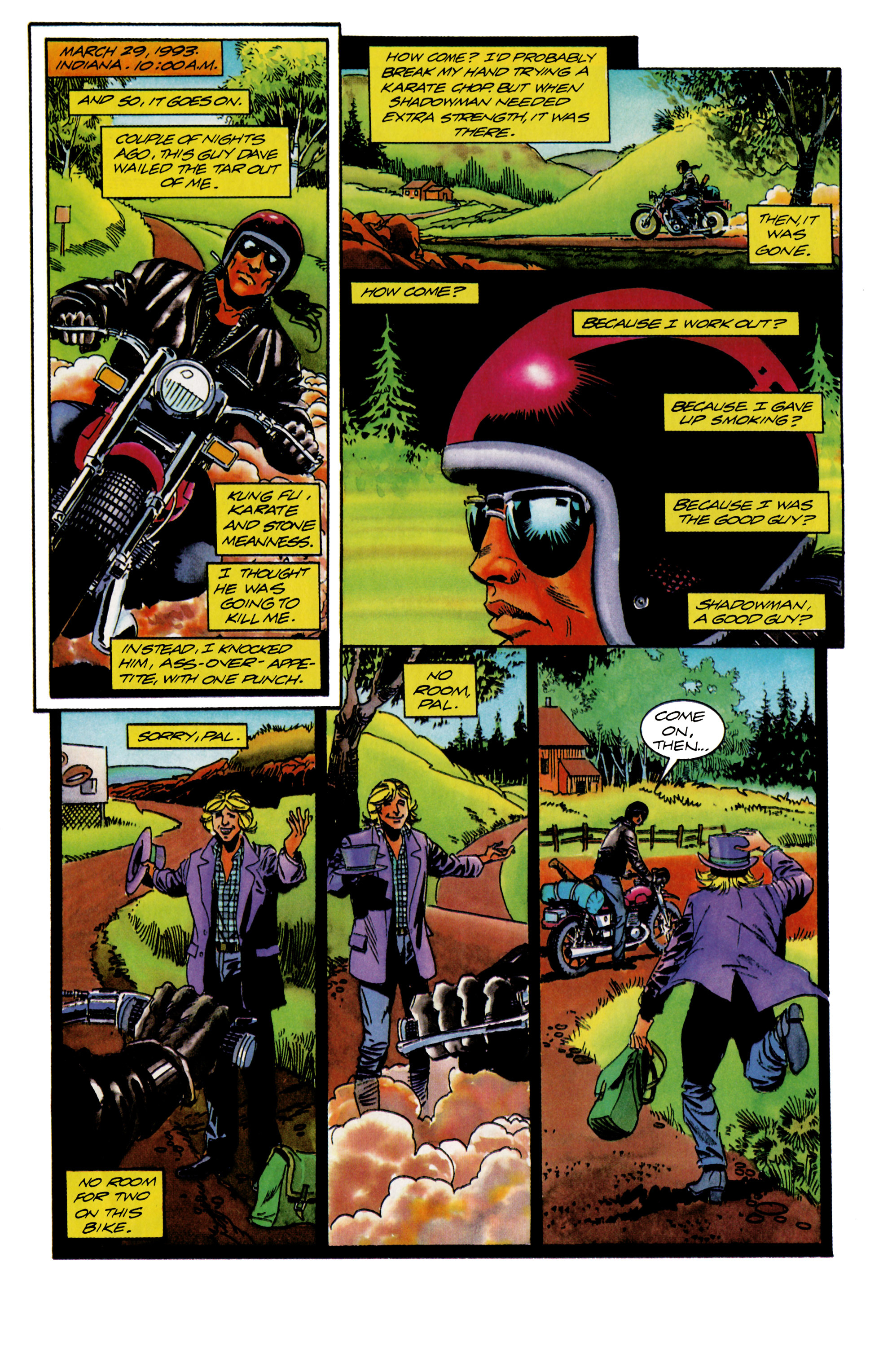 Read online Shadowman (1992) comic -  Issue #15 - 2