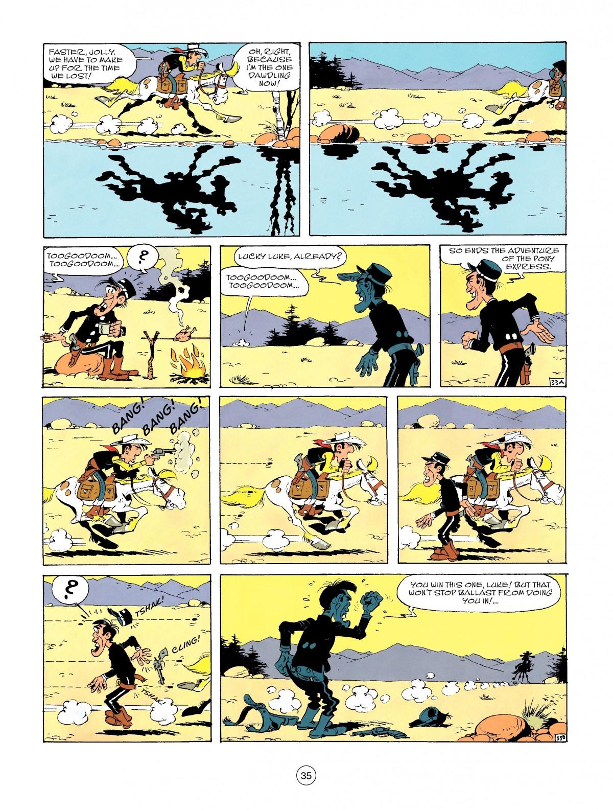 Read online A Lucky Luke Adventure comic -  Issue #46 - 35