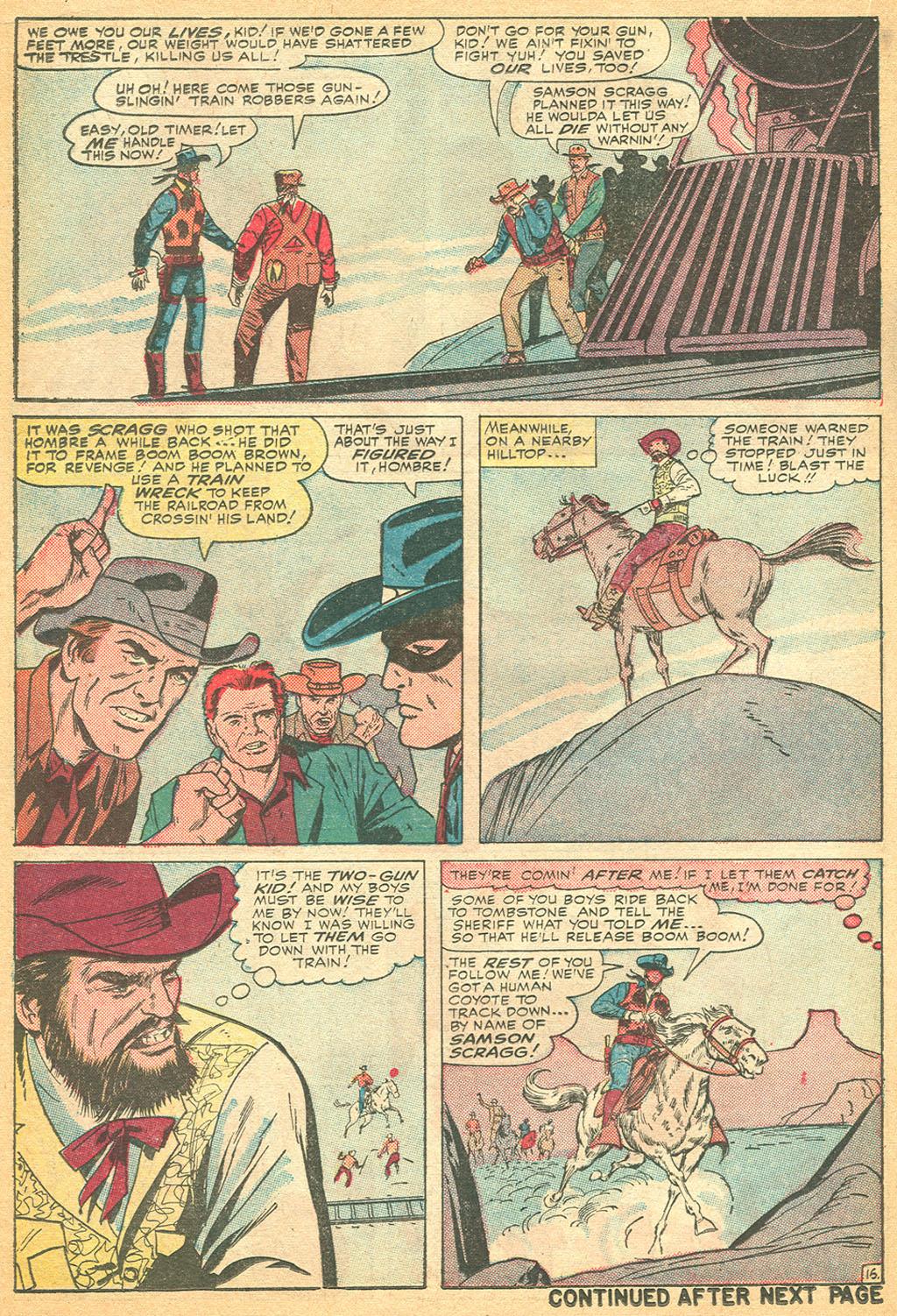 Read online Two-Gun Kid comic -  Issue #76 - 22
