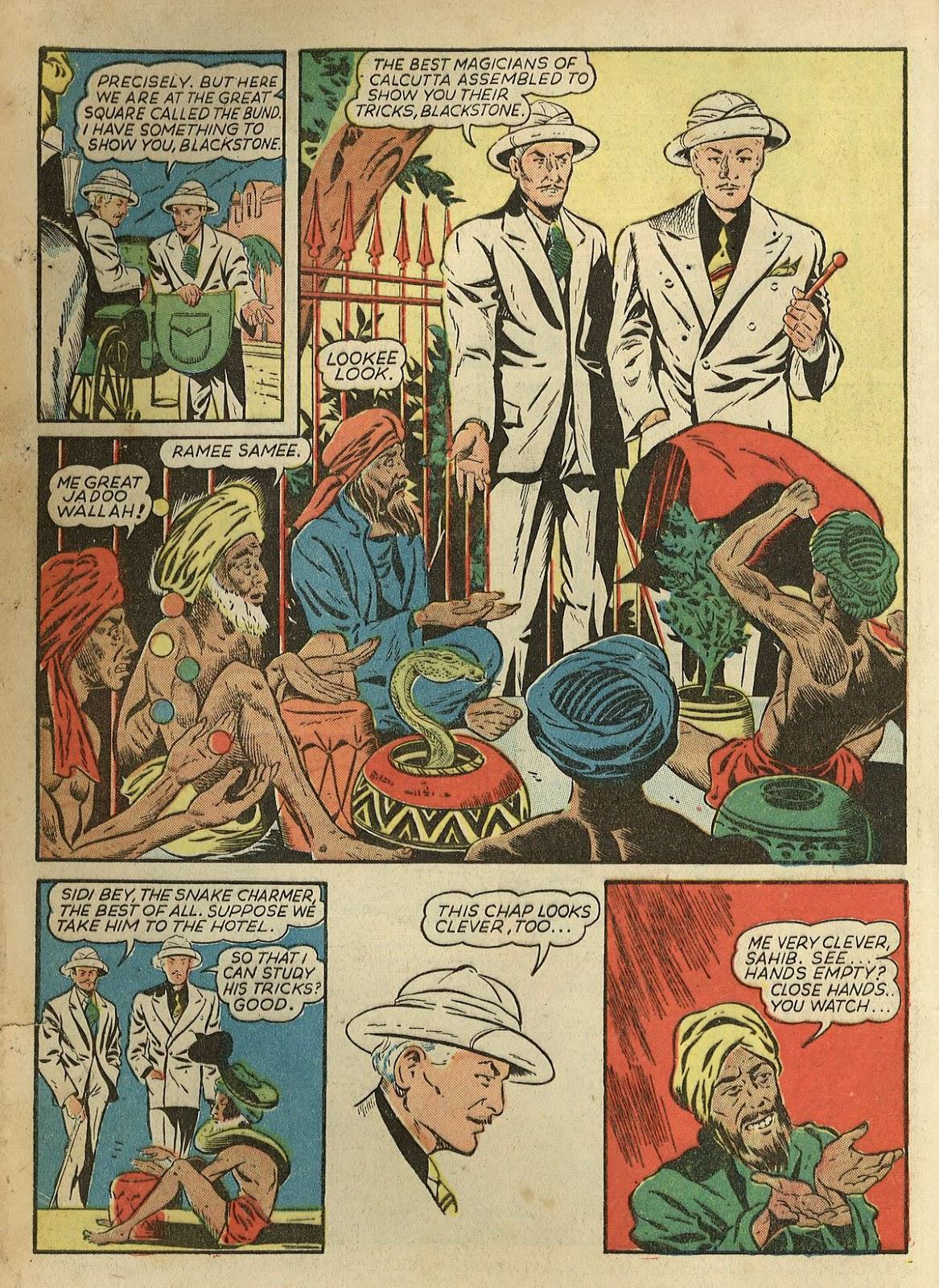 Read online Super-Magician Comics comic -  Issue #1 - 6