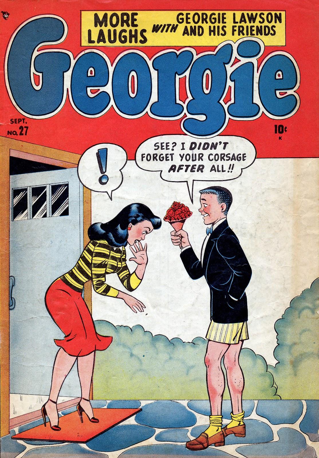Georgie Comics (1949) issue 27 - Page 1