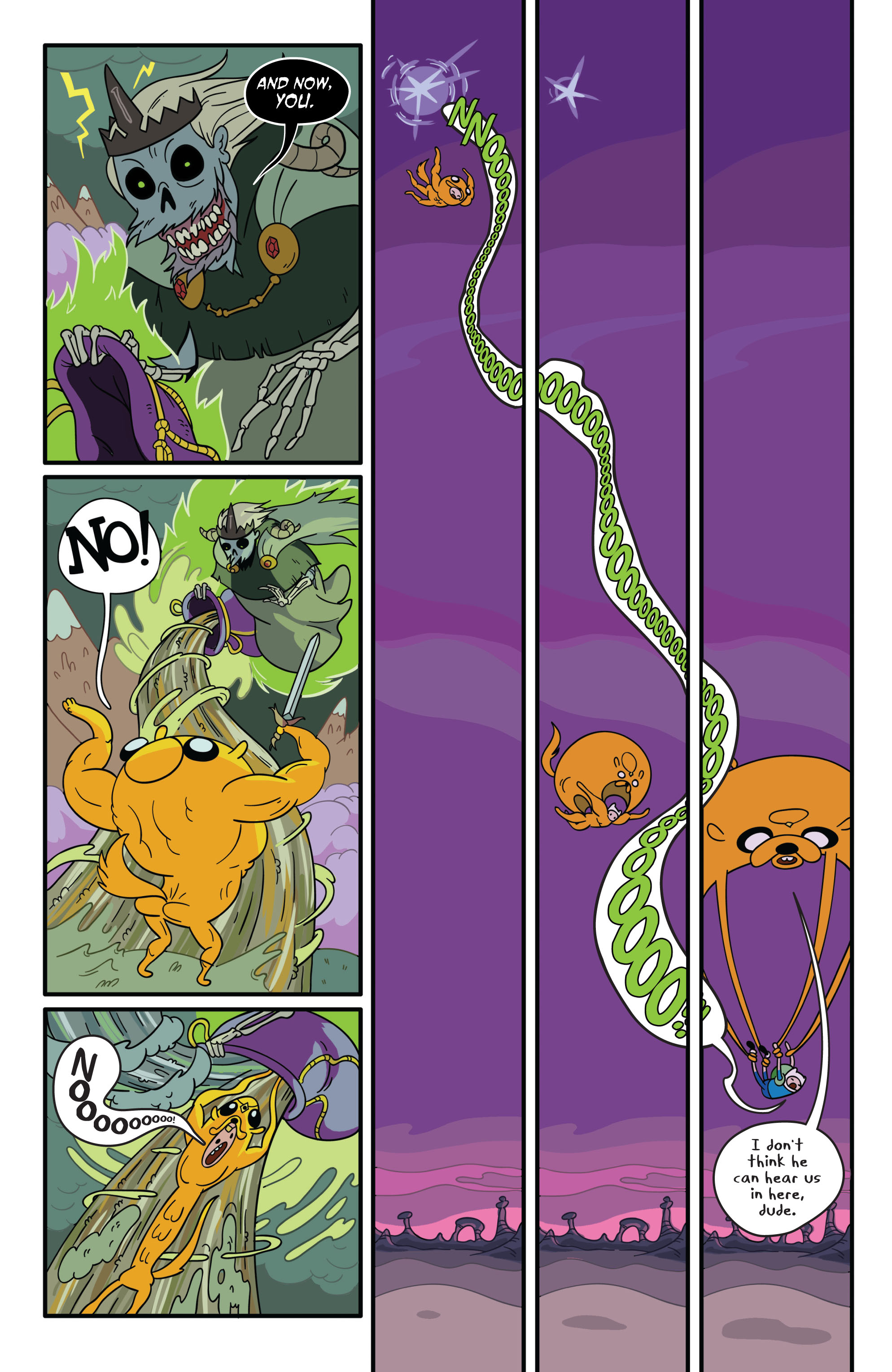 Read online Adventure Time comic -  Issue #1 - 17
