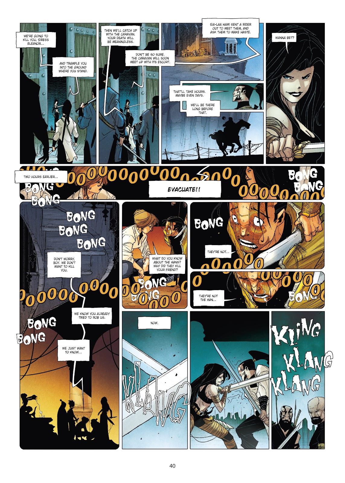 Read online Chronicles of the Dragon Knights comic -  Issue #19 - 40