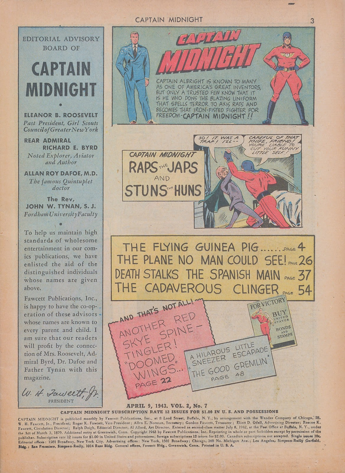 Captain Midnight (1942) issue 7 - Page 3