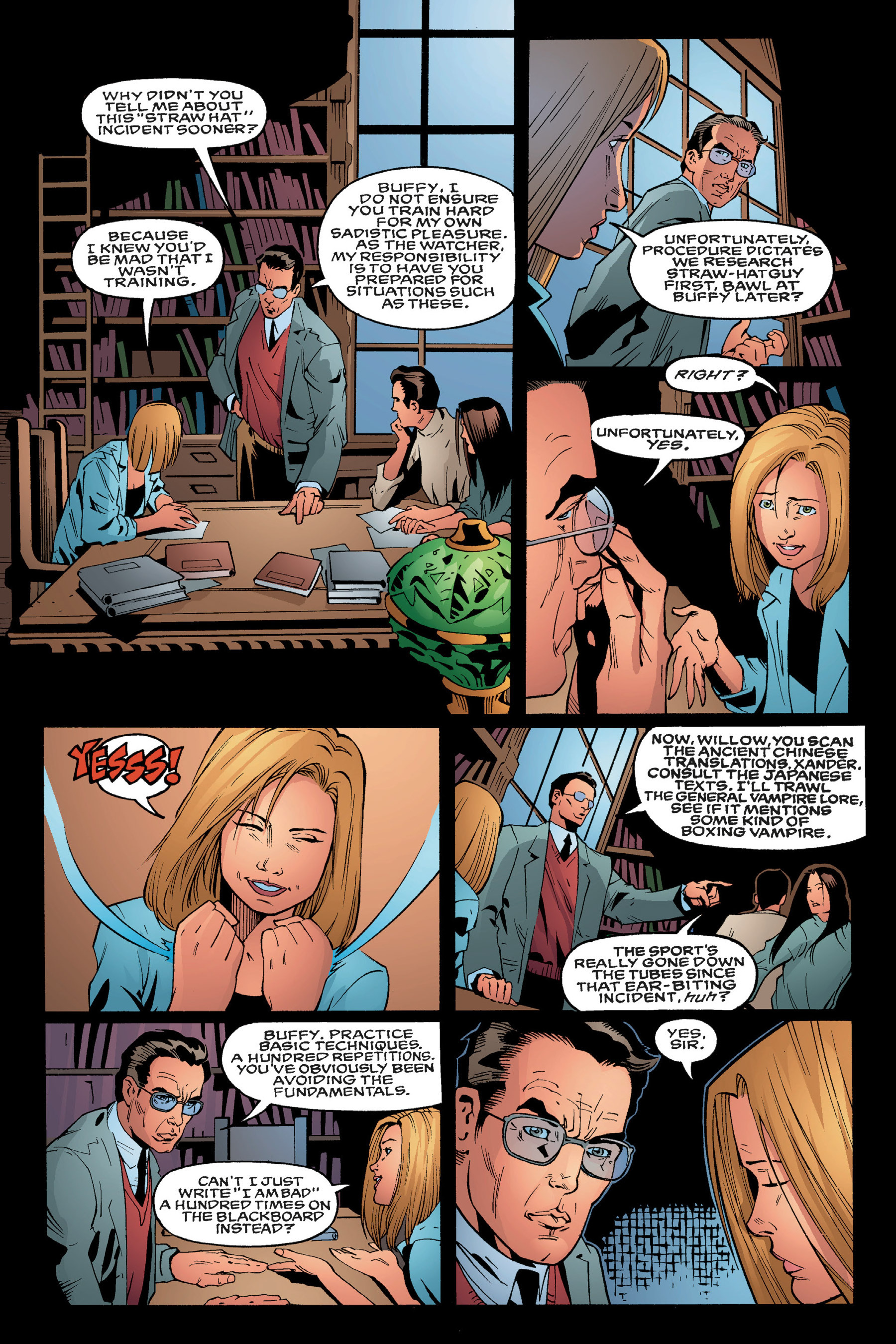 Read online Buffy the Vampire Slayer: Omnibus comic -  Issue # TPB 3 - 23