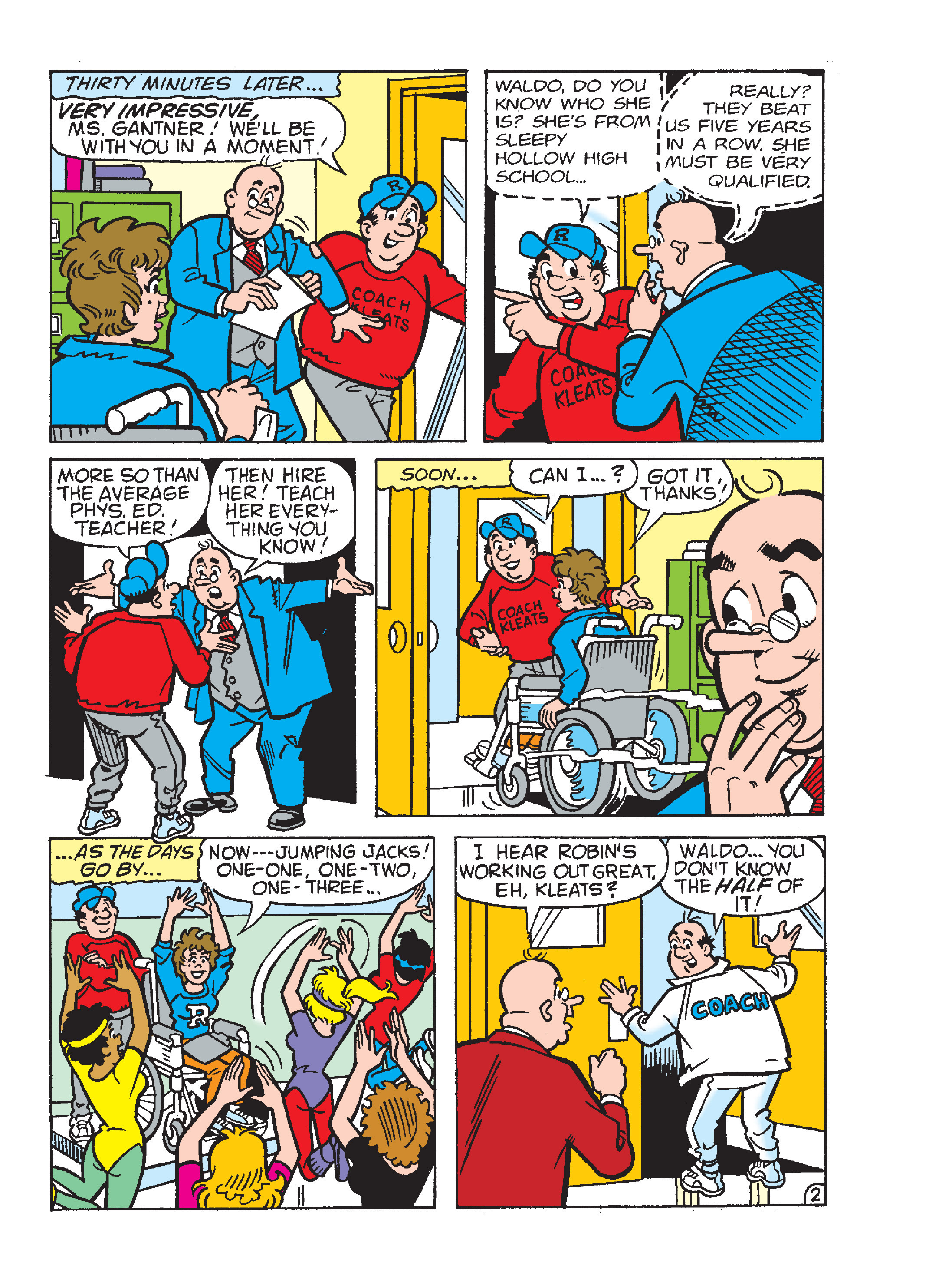Read online World of Archie Double Digest comic -  Issue #55 - 159