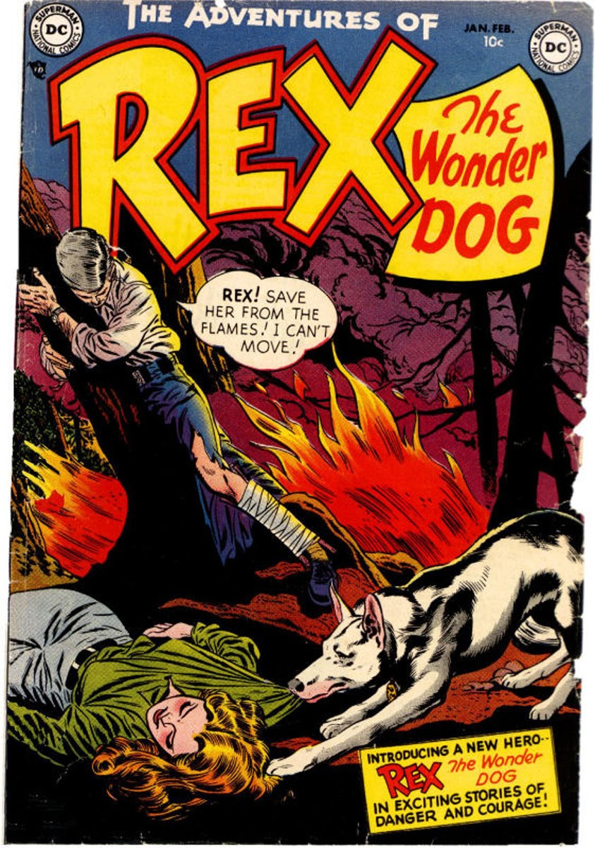 The Adventures of Rex the Wonder Dog issue 1 - Page 1