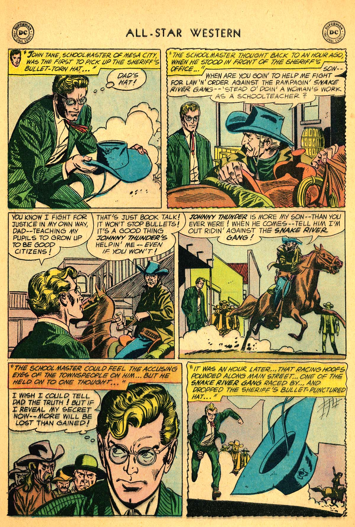 Read online All-Star Western (1951) comic -  Issue #99 - 28