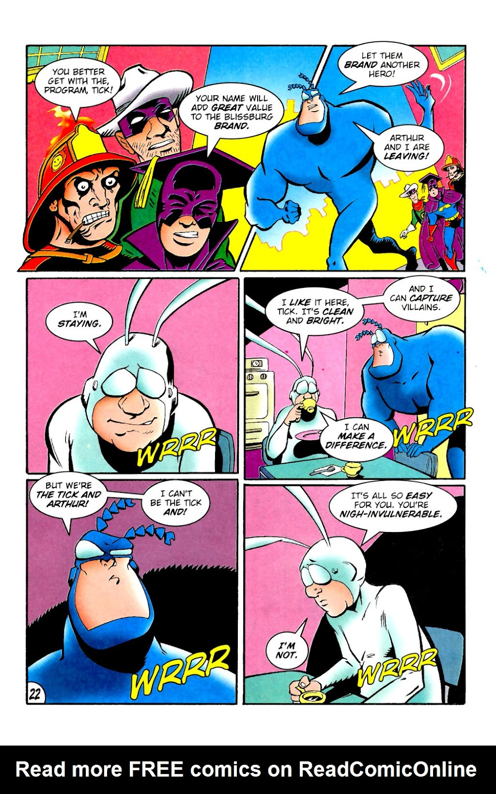 Read online The Tick: Days of Drama comic -  Issue #1 - 26