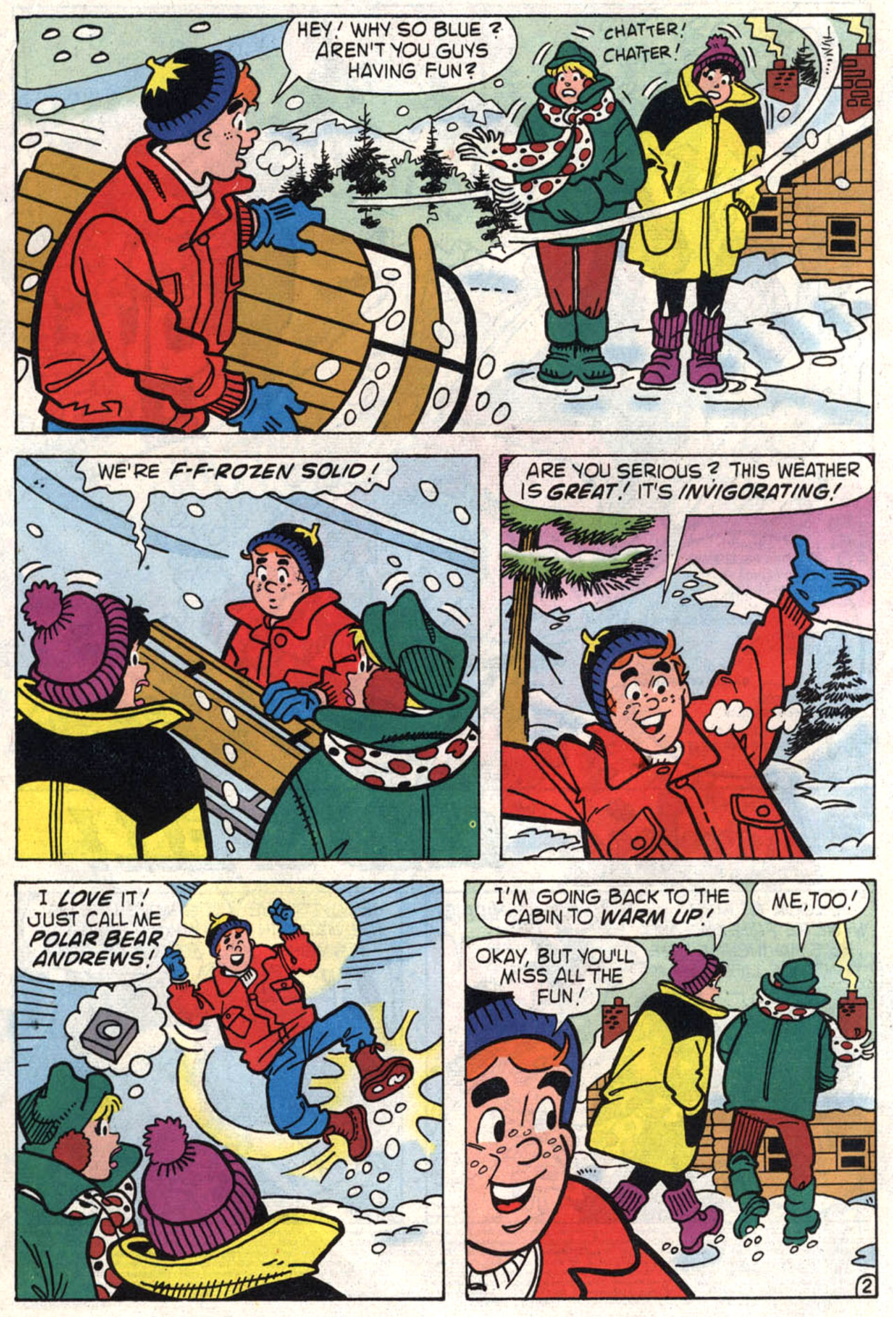 Read online Archie (1960) comic -  Issue #446 - 4