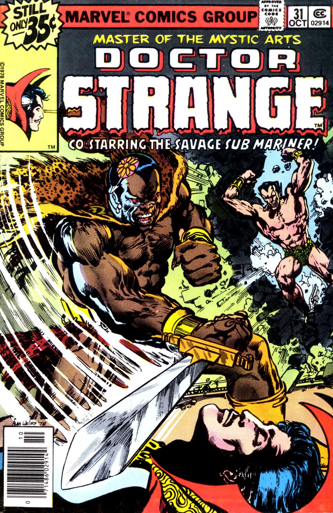 Doctor Strange (1974) 31 Page 1
