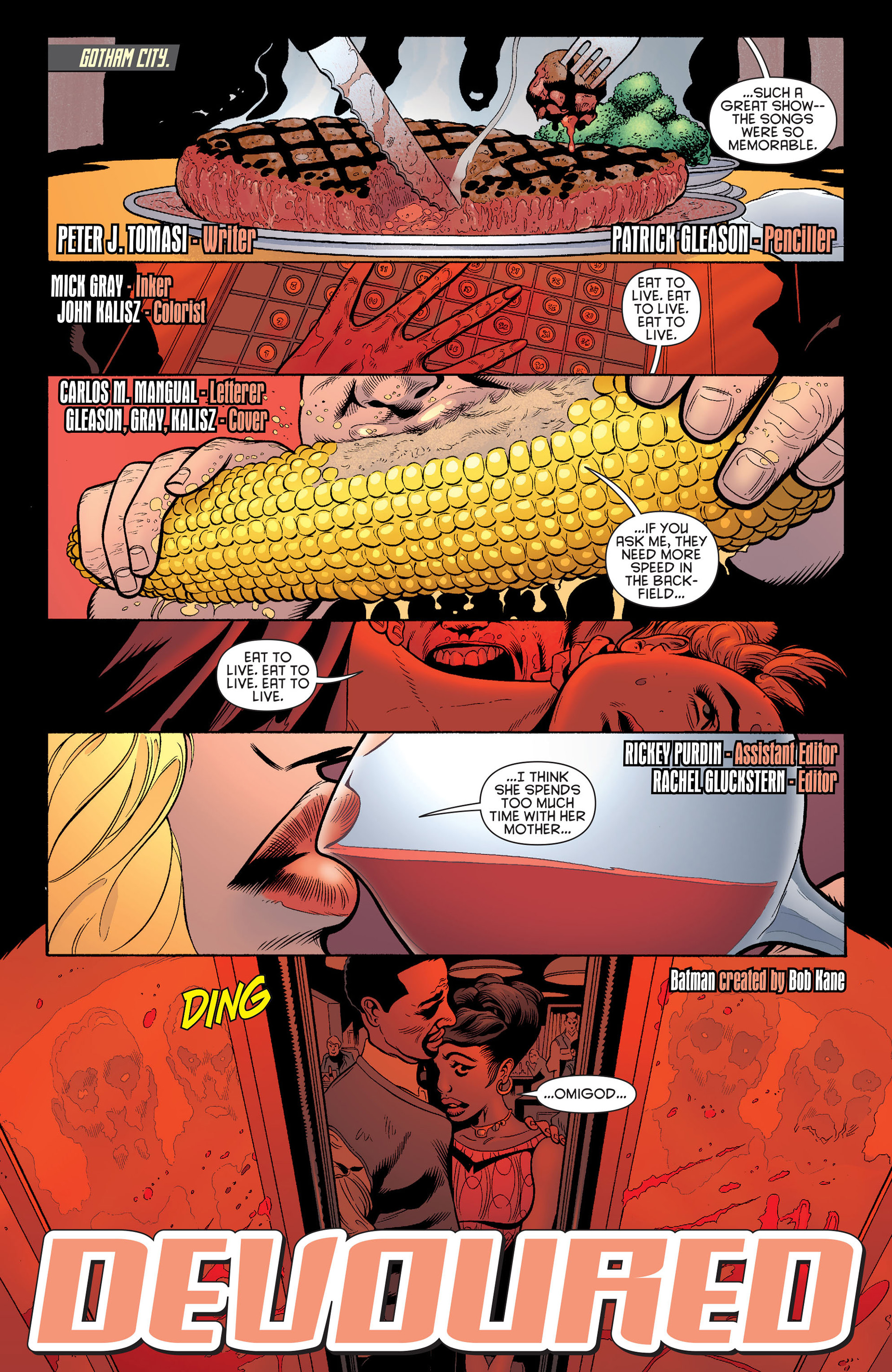 Read online Batman and Robin (2011) comic -  Issue #14 - 2