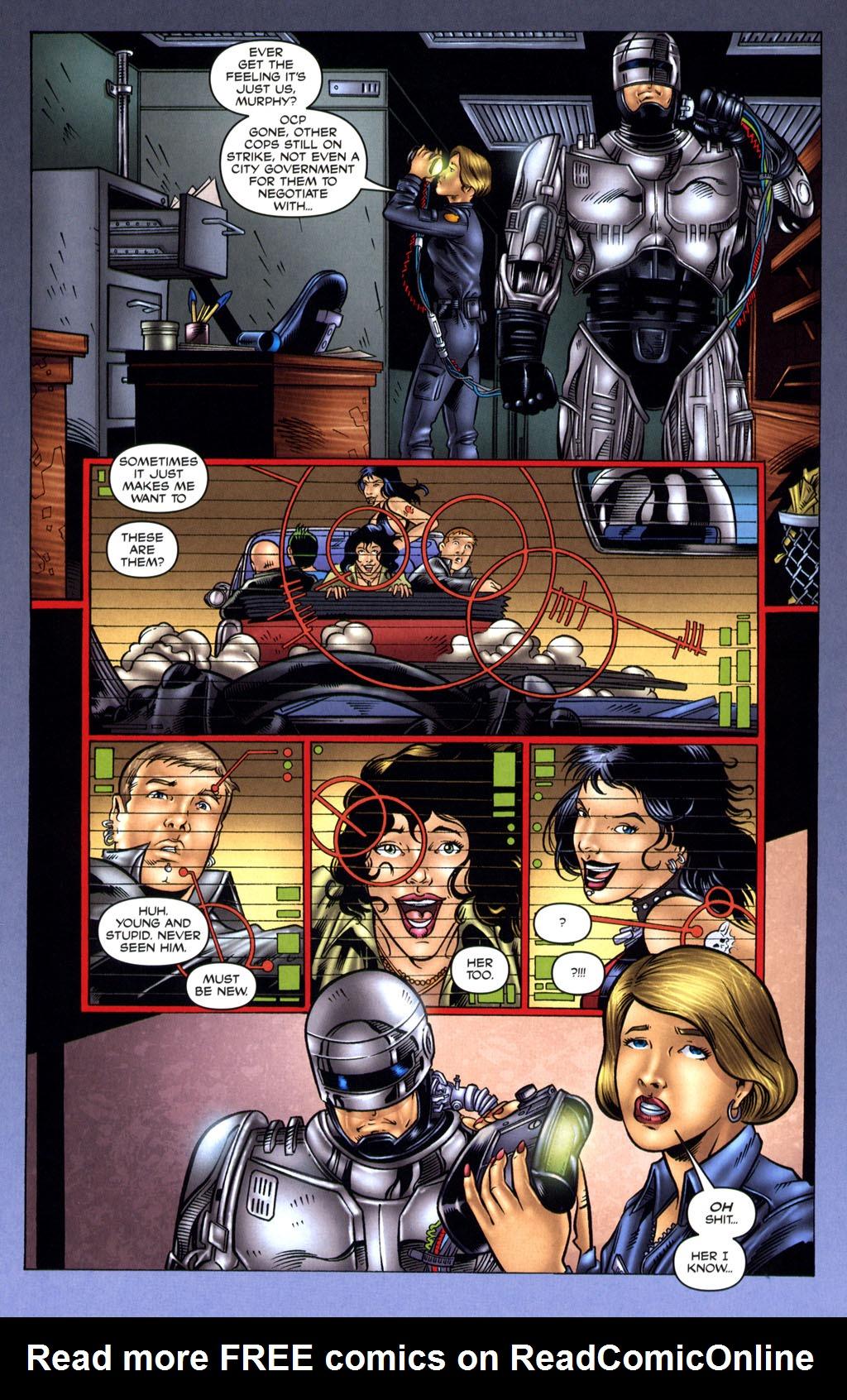 Read online Robocop: Wild Child comic -  Issue # Full - 9