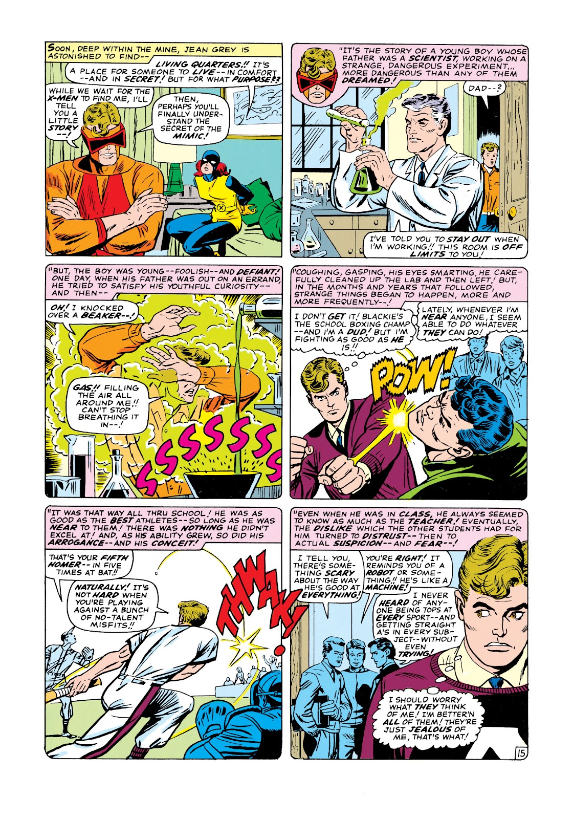 Uncanny X-Men (1963) issue 19 - Page 16