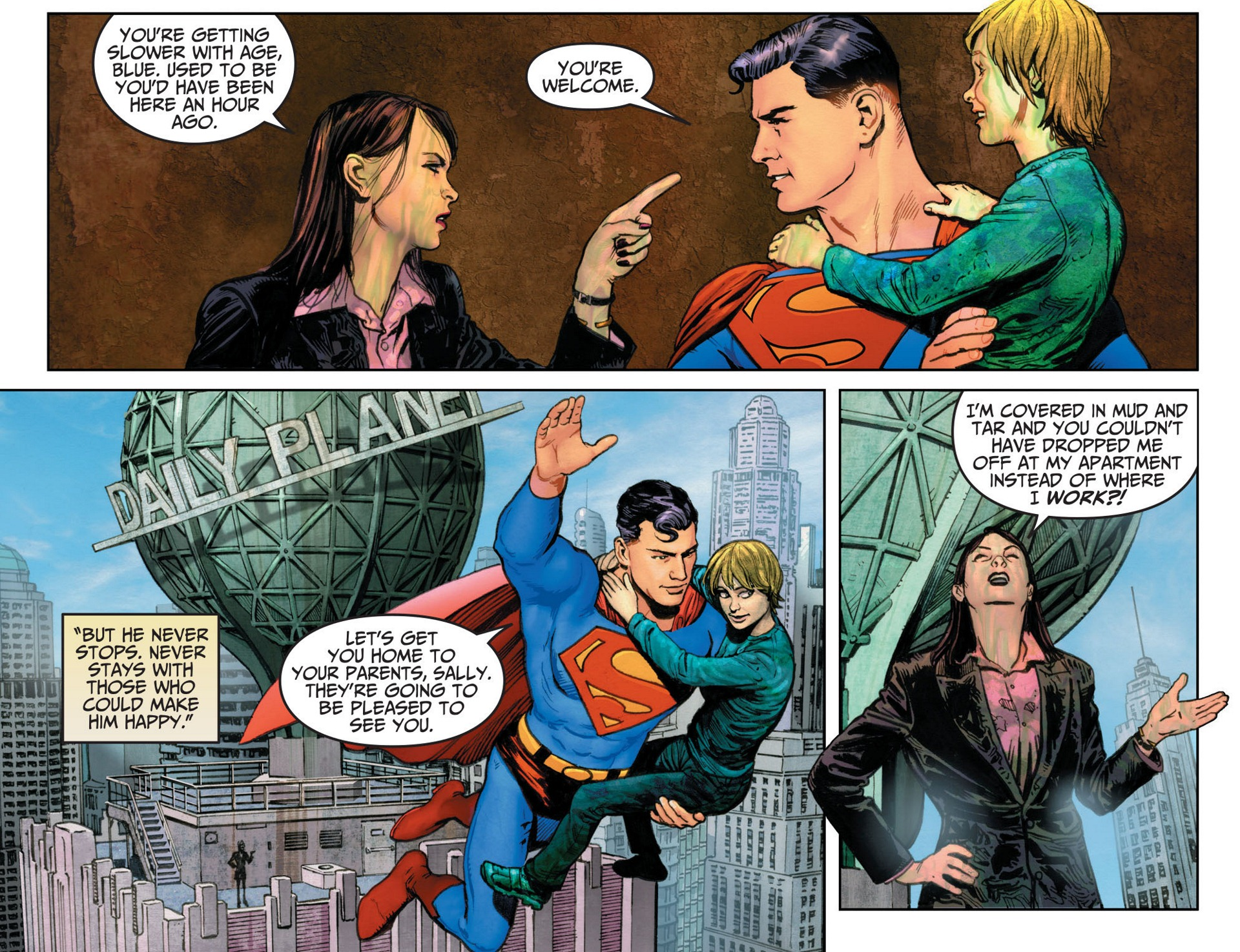 Read online Adventures of Superman [I] comic -  Issue #12 - 16