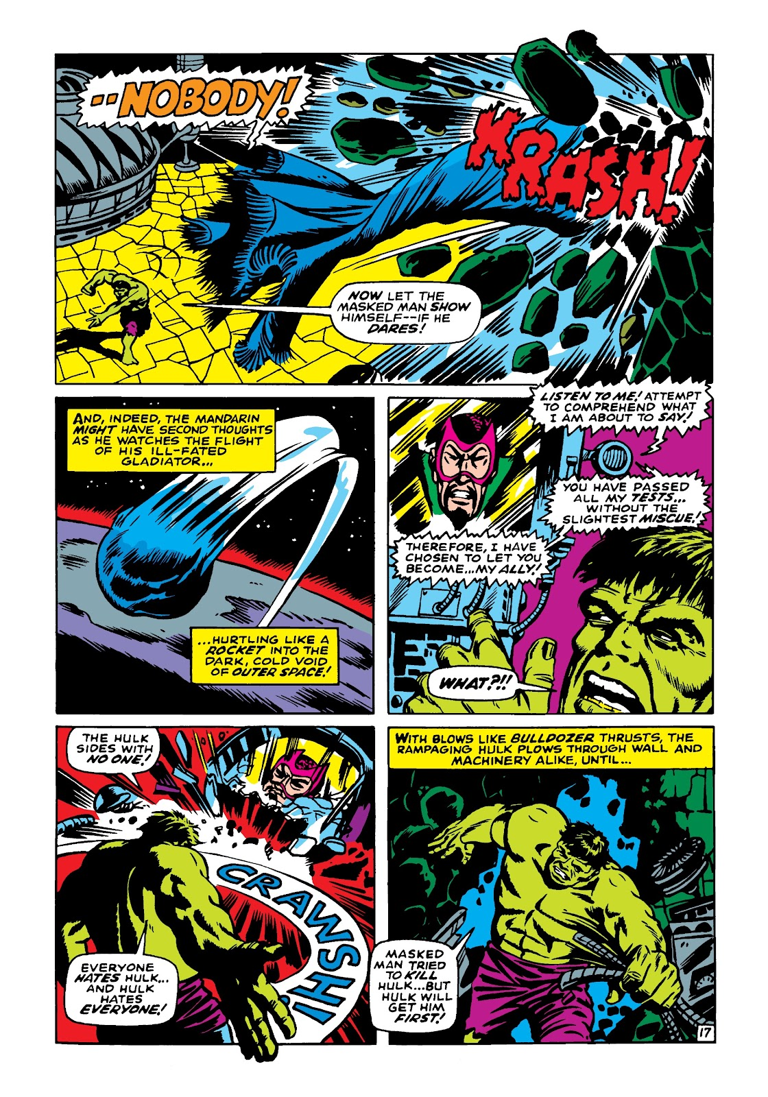 Read online Marvel Masterworks: The Incredible Hulk comic -  Issue # TPB 4 (Part 2) - 8