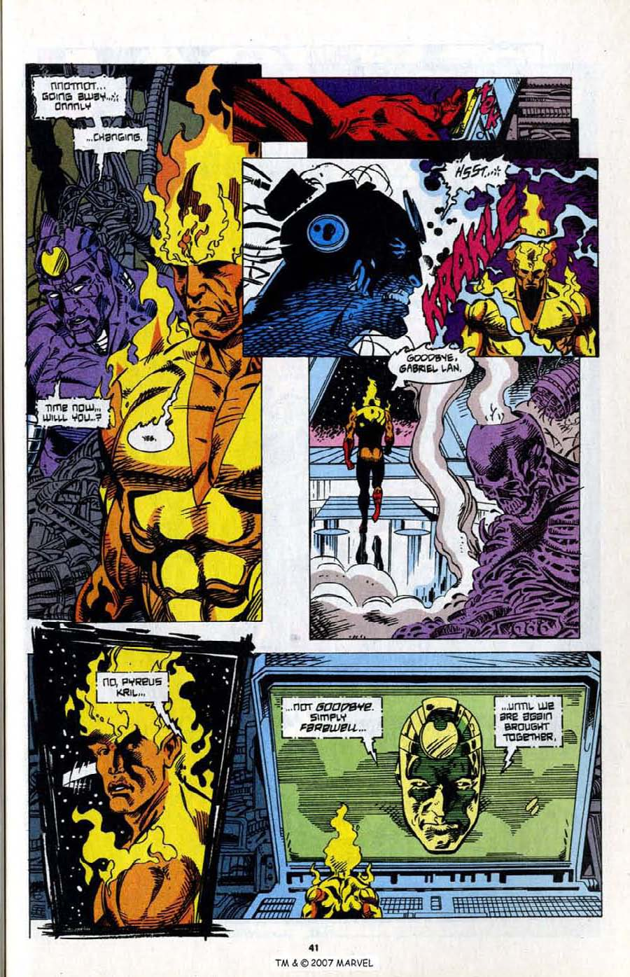 Read online Silver Surfer (1987) comic -  Issue # _Annual 7 - 43