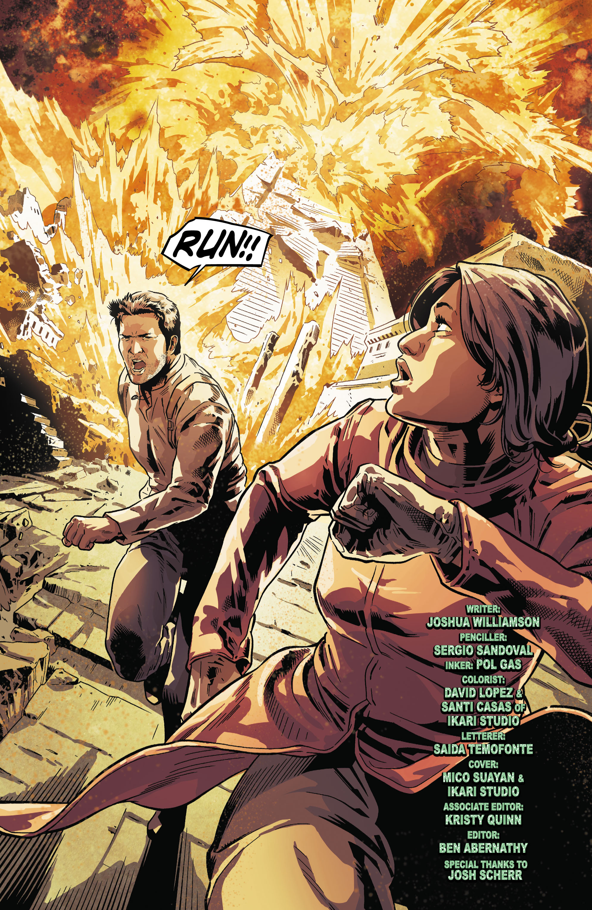 Read online Uncharted comic -  Issue #5 - 20