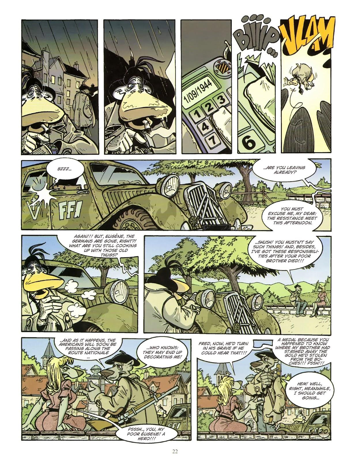 Une enquête de l'inspecteur Canardo issue 11 - Page 23