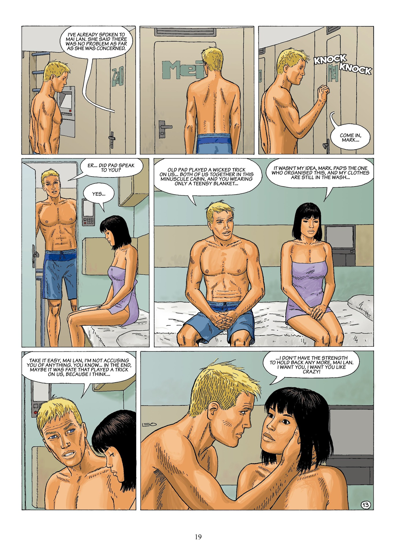 Read online Antares comic -  Issue #6 - 21