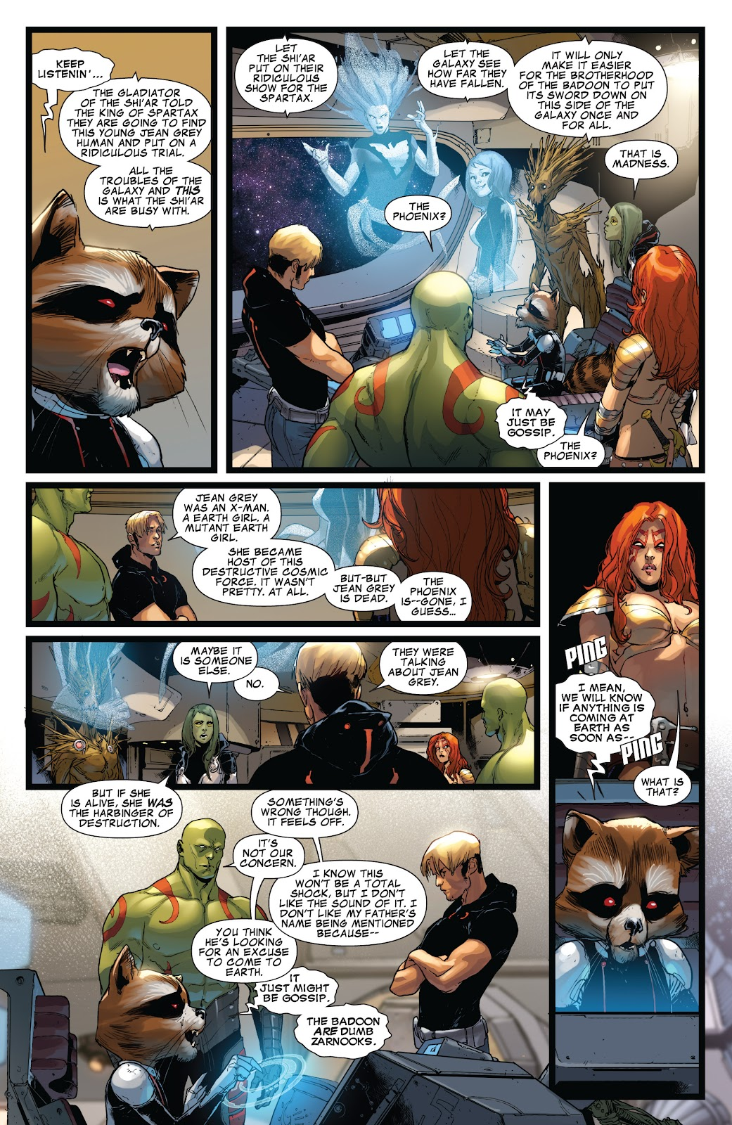 Guardians of the Galaxy/All-New X-Men: The Trial of Jean Grey issue TPB - Page 37