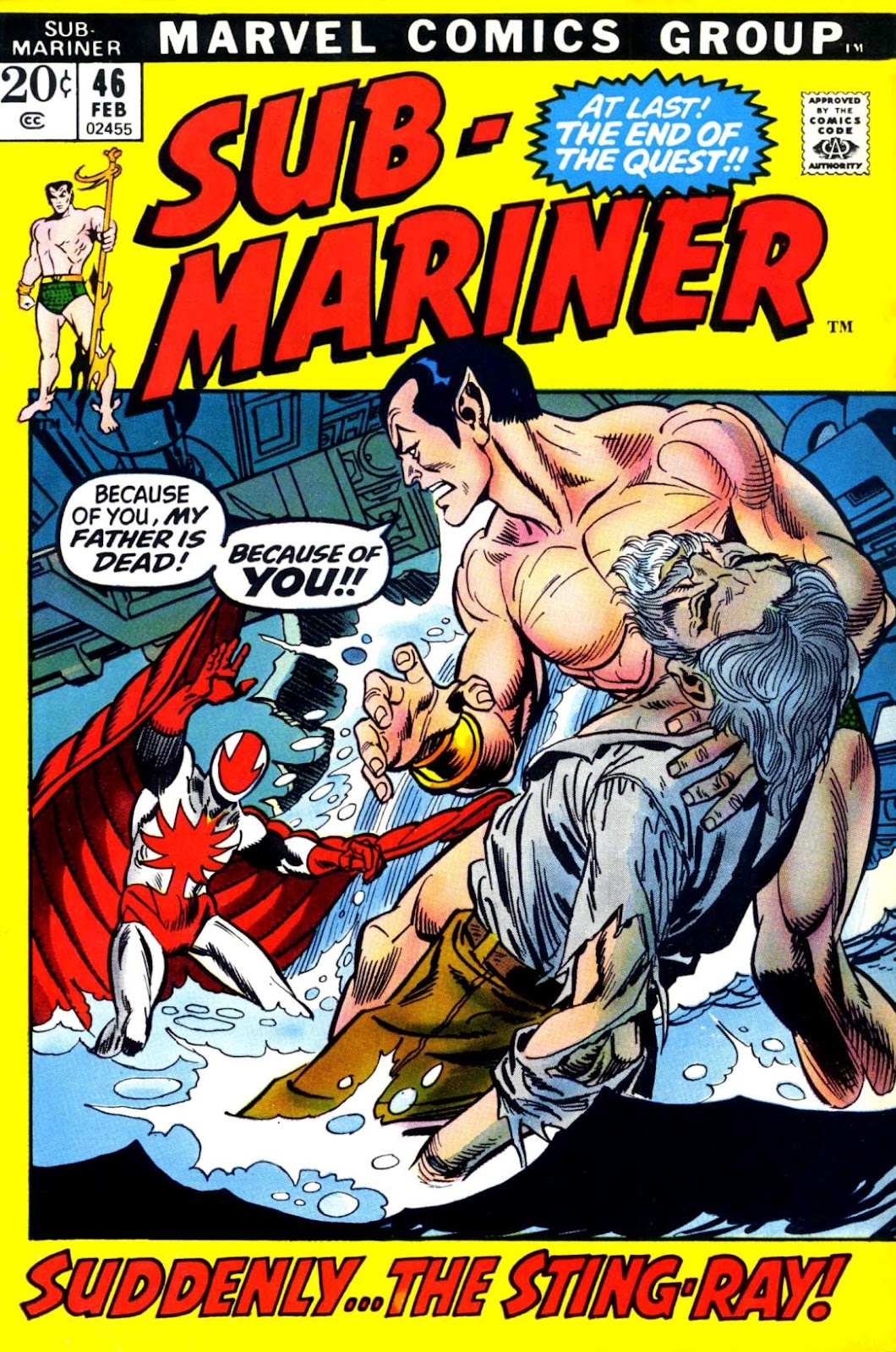 The Sub-Mariner 46 Page 1