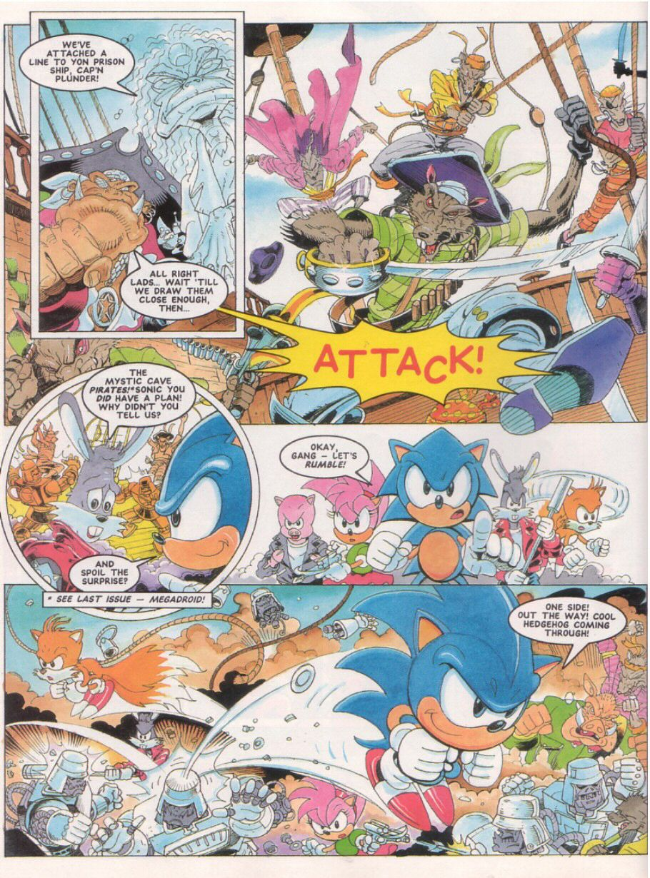 Read online Sonic the Comic comic -  Issue #24 - 8
