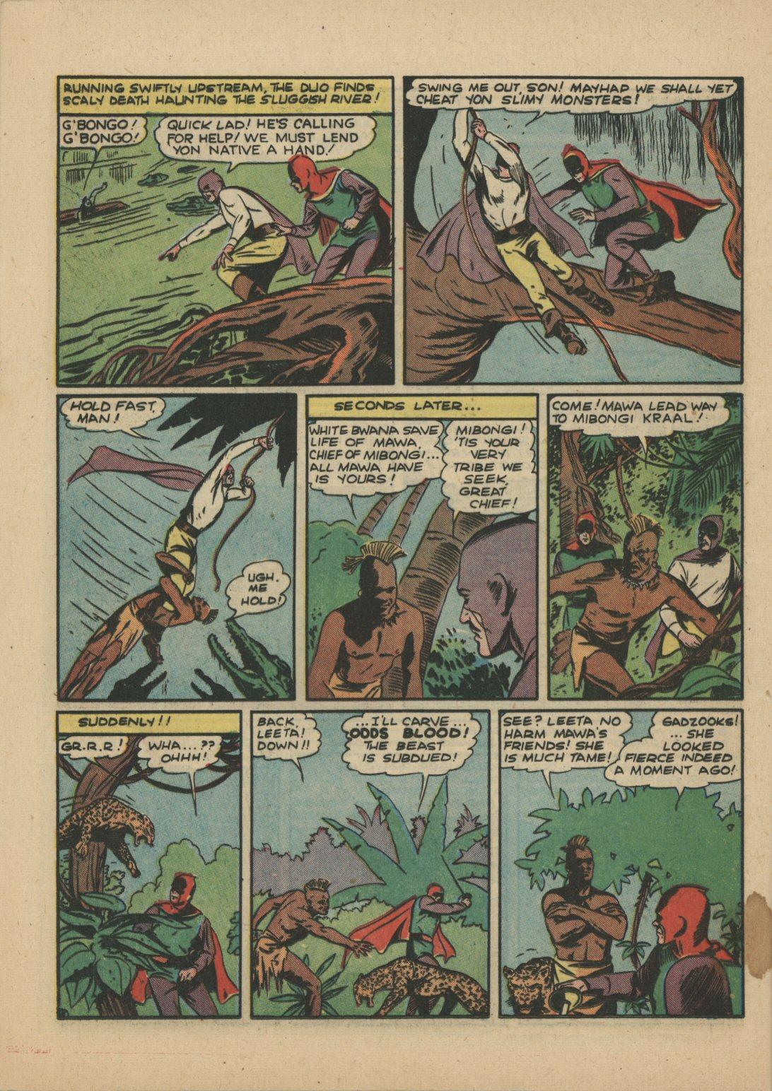 Read online Sensation (Mystery) Comics comic -  Issue #21 - 19