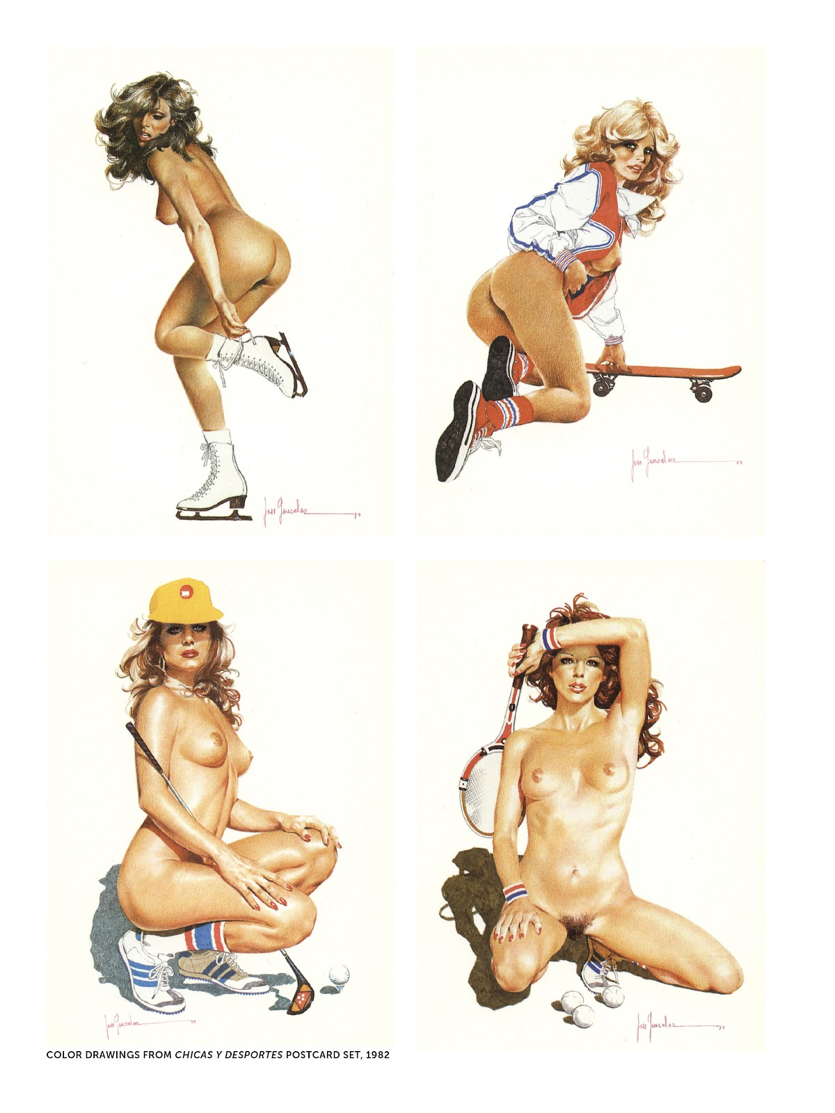 Read online The Art of Jose Gonzalez comic -  Issue # TPB (Part 2) - 12