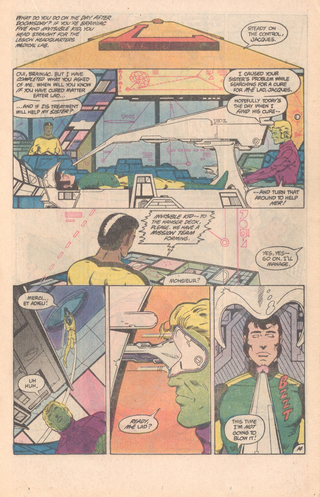 Legion of Super-Heroes (1980) 296 Page 14