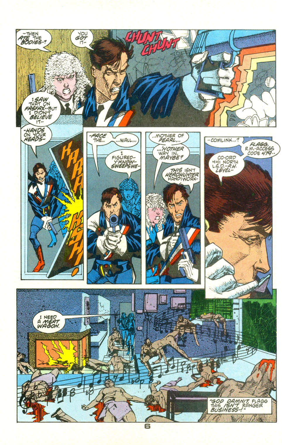 Read online American Flagg! comic -  Issue #21 - 8