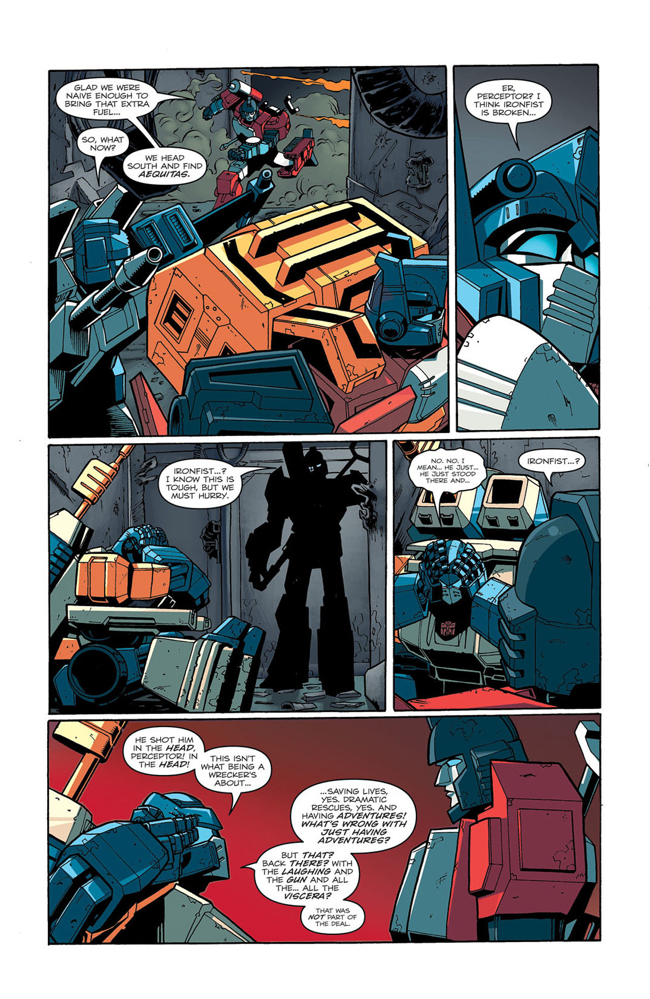 Read online Transformers: Last Stand of The Wreckers comic -  Issue #3 - 20